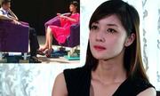 Triệu Thị Hà xin lỗi về sự cố 'ngồi lên sách'